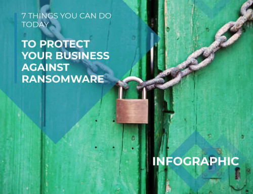 How to avoid being a victim of a ransomware attack (infographic)